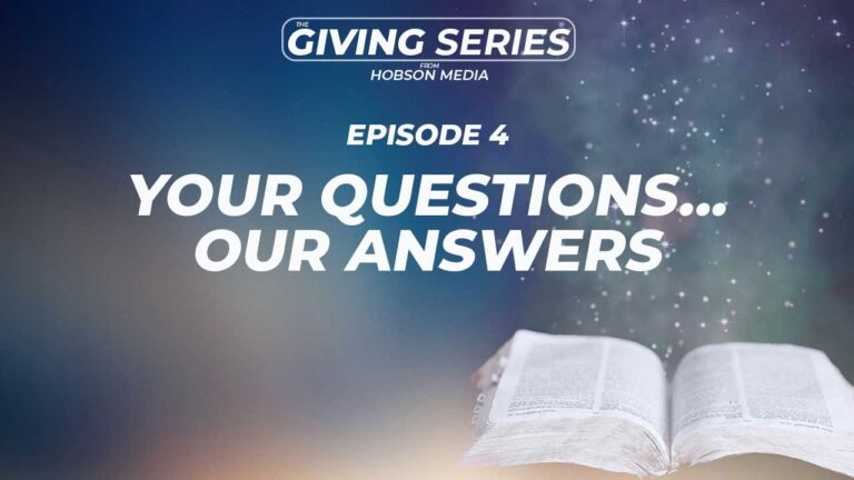 Our First Q&A – Your Questions…Our Answers