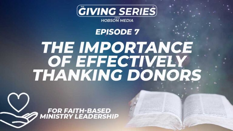 Is Your Ministry Good At Saying Thanks? Many Are Not.